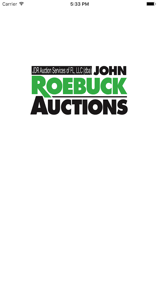 Roebuck Auctions- screenshot