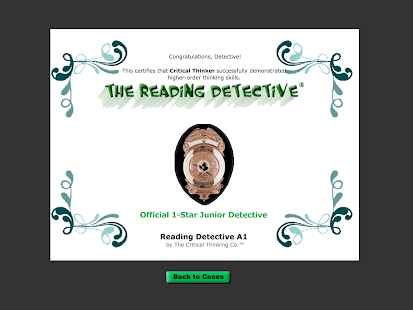Reading Detective® A1- screenshot thumbnail