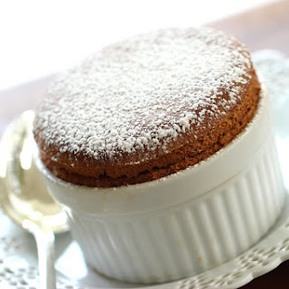 Foolproof Chocolate Soufflé.