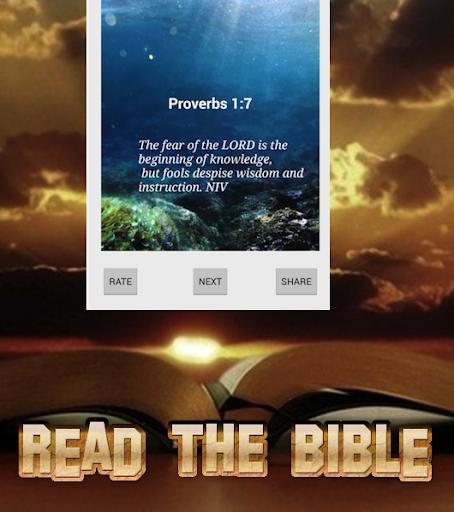 每日圣经箴言