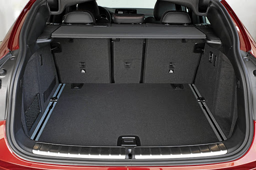 There is now 525l of boot space with rear seats in place. Picture: BMW