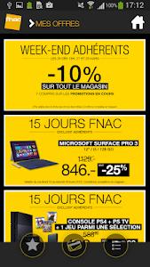 Carte FNAC Suisse screenshot 2