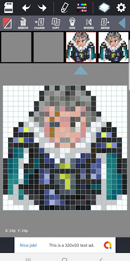 (Free) Dot Maker - Pixel Art Painter, Game Design screenshot 2