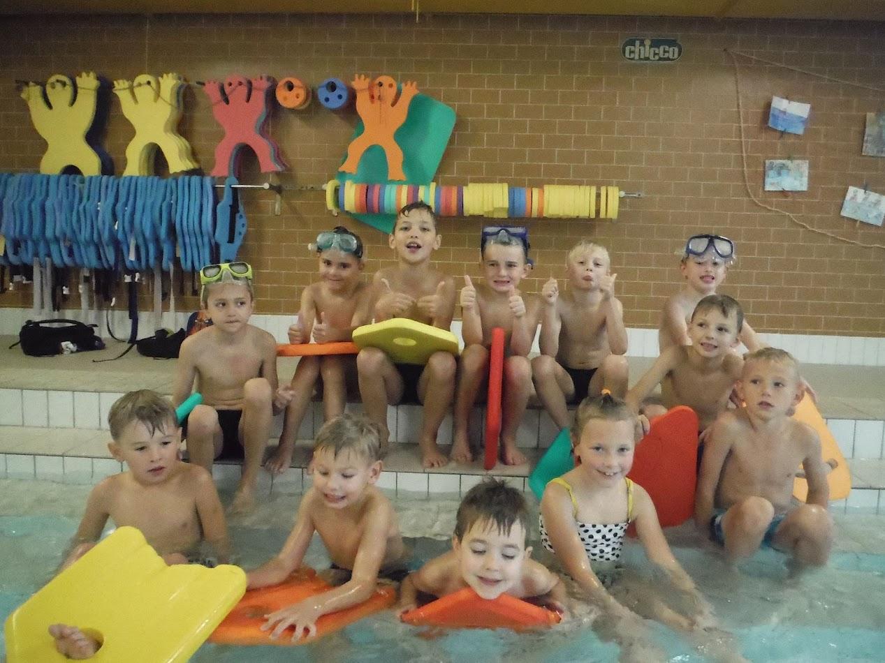 První bazén