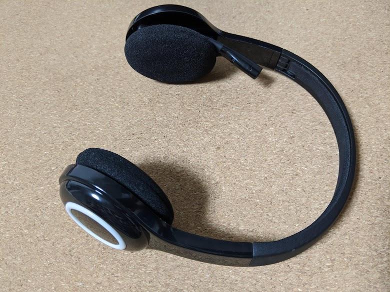 ロジクール ワイヤレス ヘッドセット H600 コンパクト