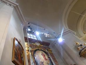 Photo: Hoch oben gibt es neue Architekturelemente.