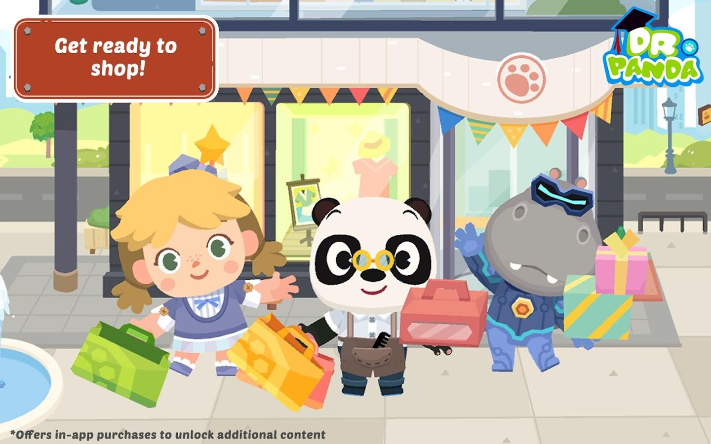 Dr. Panda Town: Mall- screenshot