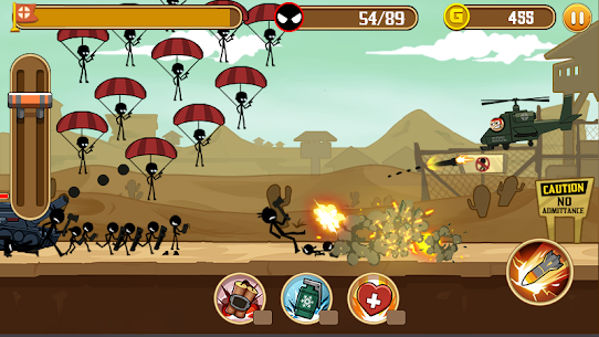 Stickman Fight MOD Apk 1.4 (Unlimited Health) 4