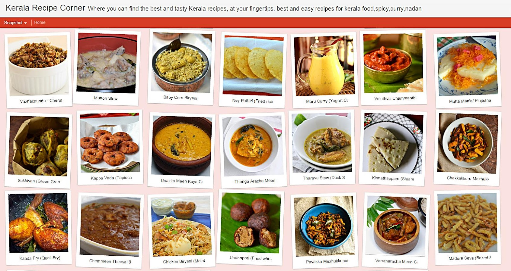 kerala snacks recipes in malayalam language
