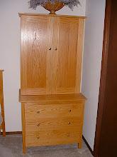 Photo: Large Cabinet Dresser - White Oak