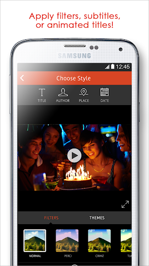 3 Videoshop - Video Editor App screenshot
