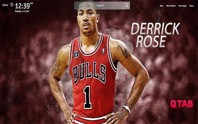 Derrick Rose Wallpapers New Tab