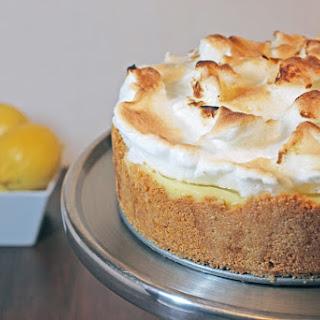 Lemon Meringue No Bake Cheese Cake