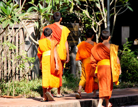 Photo: Day 261 - Monks on the Move