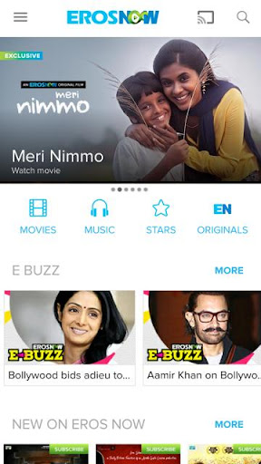 Eros Now: Best of Bollywood movies and stars 3.9.0 screenshots 1