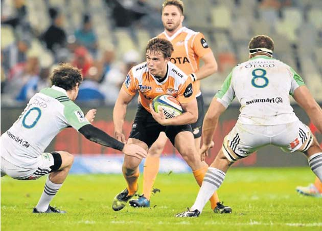 William Small-Smith during the Super Rugby match between Toyota Cheetahs and Highlanders. Picture: GALLO