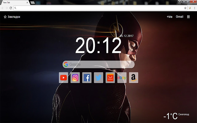 The Flash - New Tab Wallpapers & Themes HD