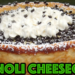 Rose Victoria's Favorite Cannoli Cheesecake!