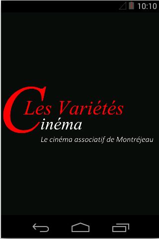 android Cinéma Les Variétés Screenshot 0