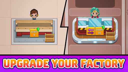Idle Factory Tycoon: Cash Manager Empire Simulator screenshots 3