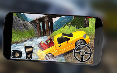 Off Road Cargo Extreme Pickup Truck Driving Sim 3D - náhled