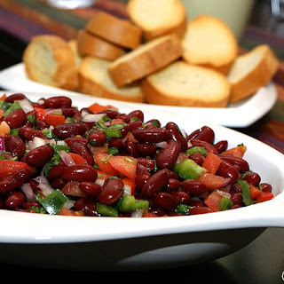 Kidney Bean Salad With Vinegar Recipes