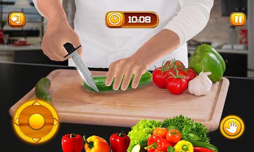 Virtual Chef Cooking Game 3D: Super Chef Kitchen apkdebit screenshots 3