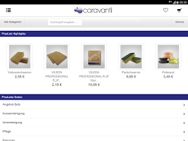 Screenshot of CARAVANTI