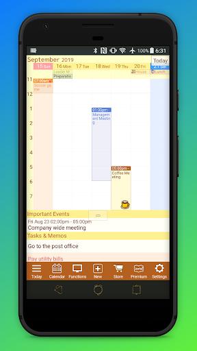 Calendar, Personal Planner & Diary - Jorte 1.9.56 Screenshots 9