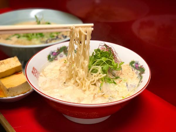 臺南市中西區美食推薦太郎中華拉麵『這怎麼可能是純素!「豆乳拉麵」你吃過?每次經過人都滿出來 ...