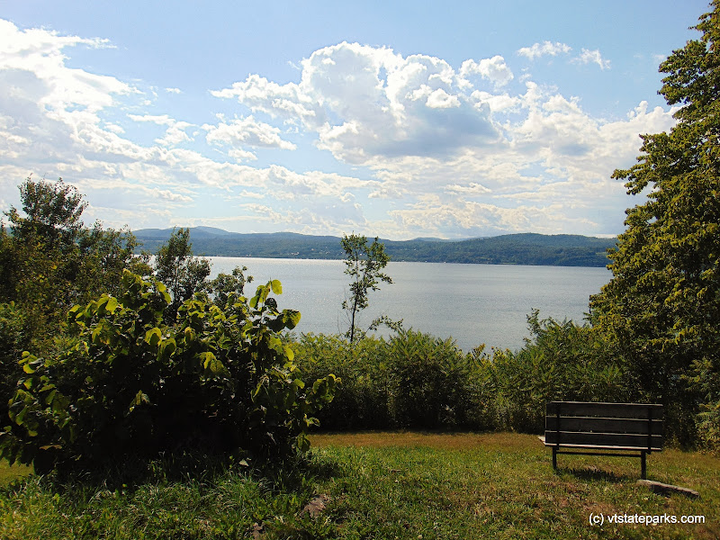 Photo: A scenic shot of Lake Champlain from DAR State Park by Belinda Lafountain