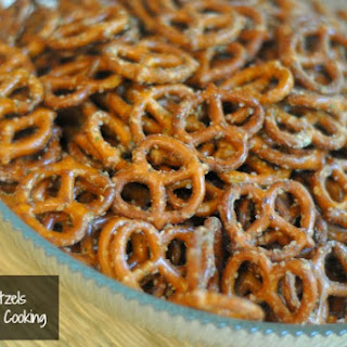 Garlic Seasoned Pretzels Recipes