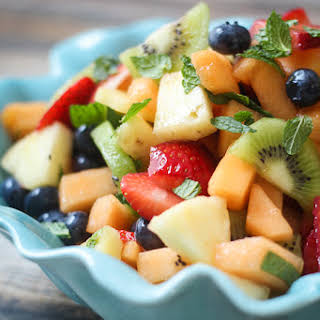 Best Ever Boozy Fruit Salad.