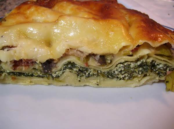 White Lasagna (lasagna Bechamel) Recipe