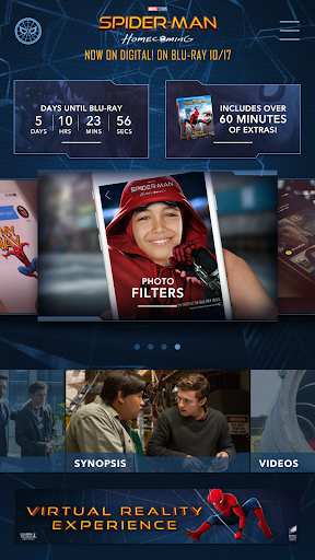 The Spider-Man: Homecoming App 1.1.0 app download 1