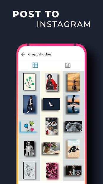 Drop Shadow For Instagram