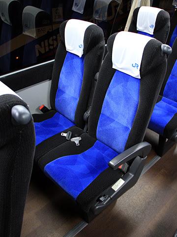 西日本JRバス「白浜エクスプレス大阪号」 2331 シート
