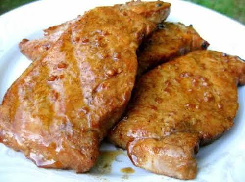 """Cumin Grilled Pork Chops""""These pork chops are so juicy and full of..."""