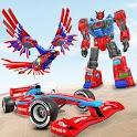 Eagle Robot Car Game – Formula Car Robot Games icon