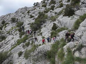 Photo: Rodeando el Morro de Cúber antes de la subida final