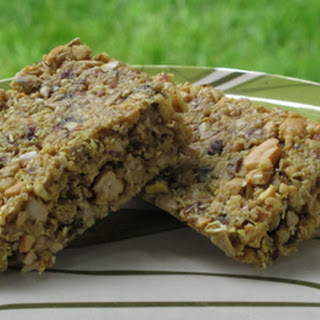 Sweet Coconut Curry Granola Bars