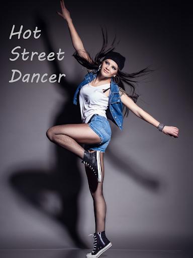 ホットのストリート ダンサー