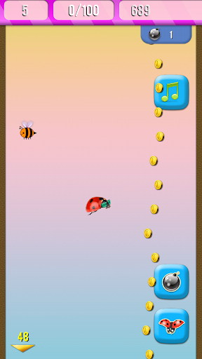 基地跳跃瓢虫!