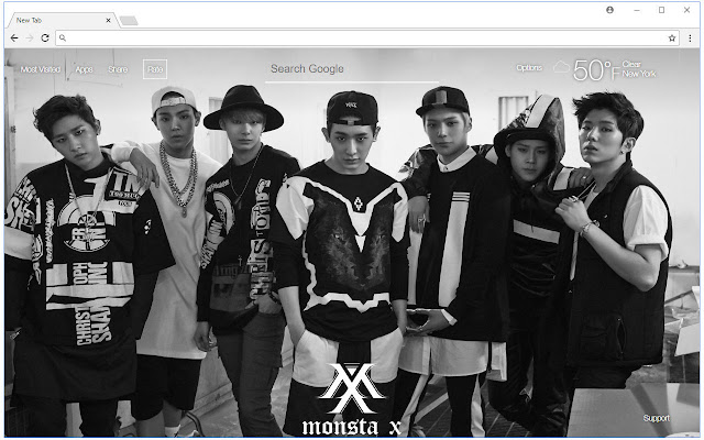 Monsta X Wallpapers Hd New Tab K Pop Themes سوق Chrome الإلكتروني