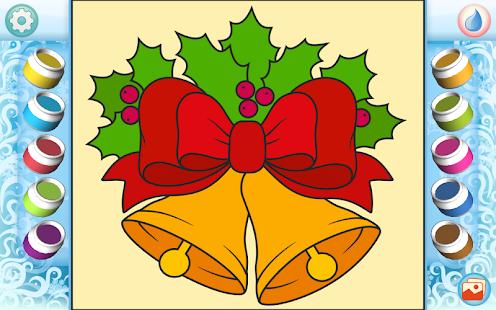 Рисуй по номерам - Рождество_3