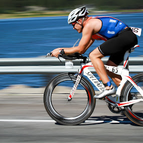 Triathlete by Jay Woolwine Photography - Sports & Fitness Cycling