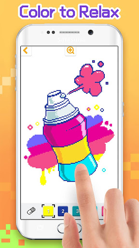 Pixel Artworks - Free Coloring Games 1.4.4 screenshots 1