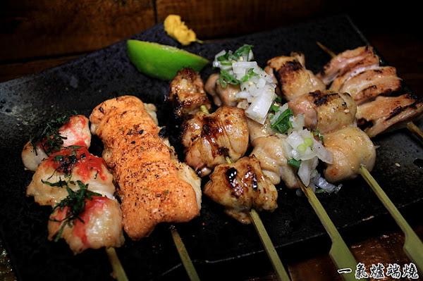 用船槳送餐,推薦牛舌&松阪豬,東區市民大道單點式燒烤店。一氣爐端燒 IKKI Robatayaki