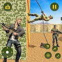Gangster Attack Army Training Camp:Free Shooting icon