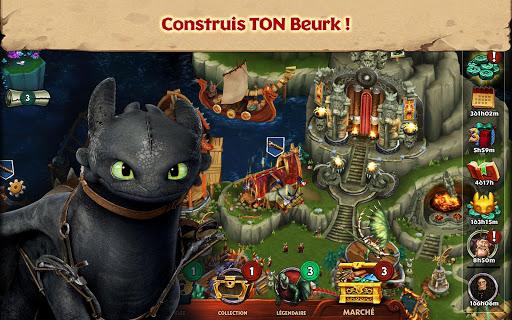 Dragons : L'Envol de Beurk  captures d'u00e9cran 1